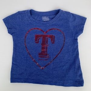 Texas Rangers Infant Girls 12-18M